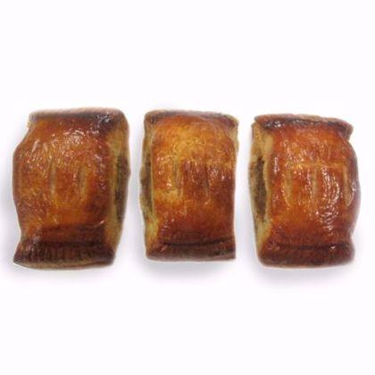 Afbeeldingen van Saucijzenbroodje mini per 12