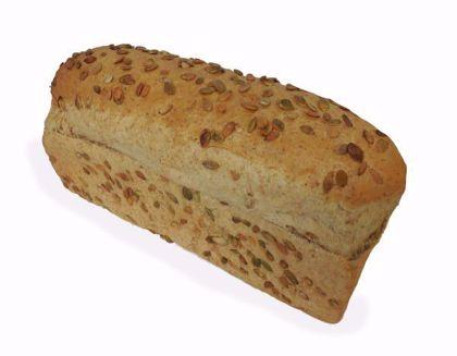 Afbeeldingen van Lichtbruin pompoen brood