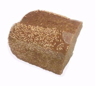 Afbeelding van Desem volkorenbrood sesam - half