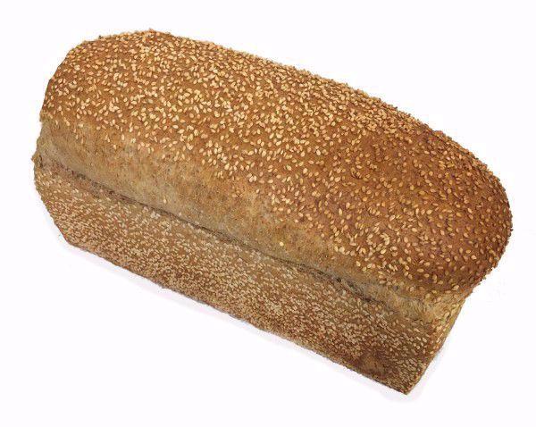 lichtbruin brood sesam