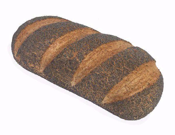 Vloerbrood bruin maanzaad