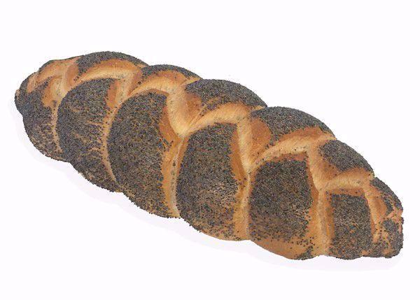 Vlechtbrood klein maanzaad